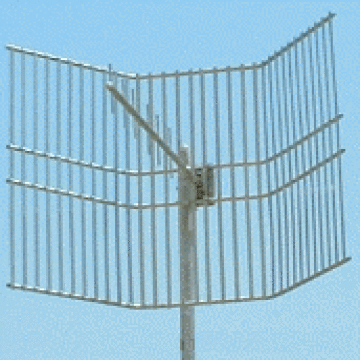Yagi Antenna with Trough Reflector: UHF Very High Gain Directional