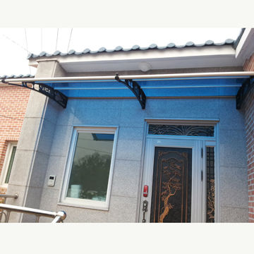 Door Canopy South Korea Door Canopy & DIY Door Canopy without Any Joints Uses 1 Whole Sheet of ...