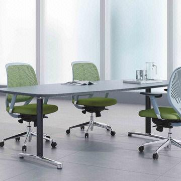 China Small Conference Table, Made Of Melamine, Customized Colors Are  Accepted