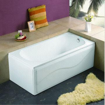 Superb 2.2 170b Acrylic Double Apron Bathtub (soaking Bathtub)