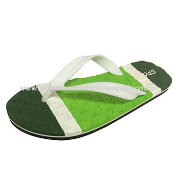 10548006e China Custom comfortable EVA beach flip flops for men on Global Sources
