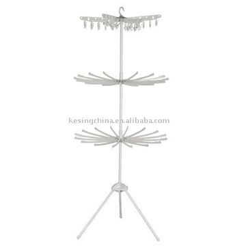 Clothes Drying Rack   (ksp 8721)3 tiers Indoor Clothes Drying Rack