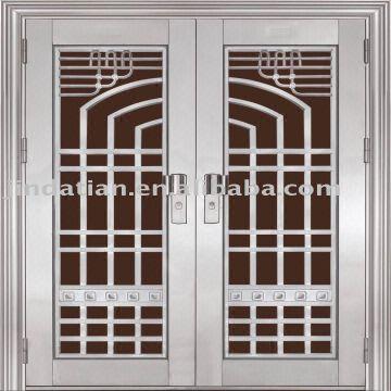 Metal Double Doors stainless steel double doors | global sources