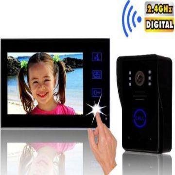2. 4ghz digital wireless video door phone user manual.