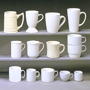 Taiwan Ceramic Mugs In Various Shapes And Sizes