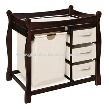 ... China Modern And Useful Wooden Baby Changing Table