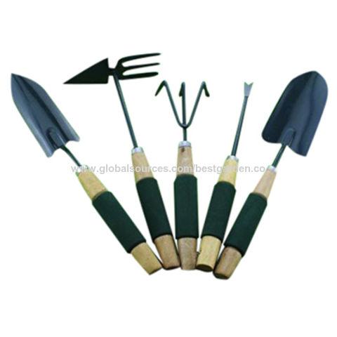 wood sleeve garden hand tools set - Best Garden Tools