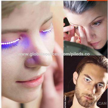 2311769b51d ... China Source production factory direct sales fashion lash false LED  eyelashes light for party ...