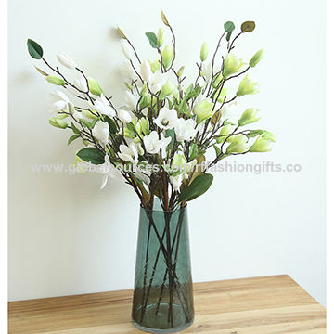 China magnolia artificial flowersmade of silkgreat for wedding magnolia silk artificial flowers china magnolia silk artificial flowers mightylinksfo