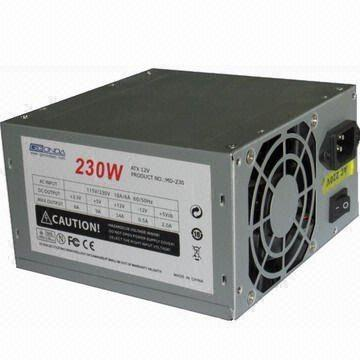 ATX Power Supply with 230W Power Supply, Customized Specifications ...