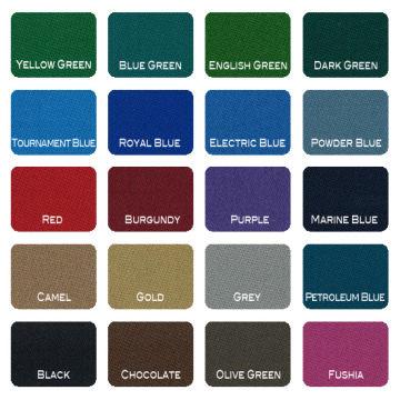 Pool Table Cloth Felt Cover Nine Ball Table Cloth Worested Cloth