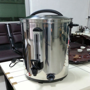 Stainless steel electric hot water boiler have single or double wall ...