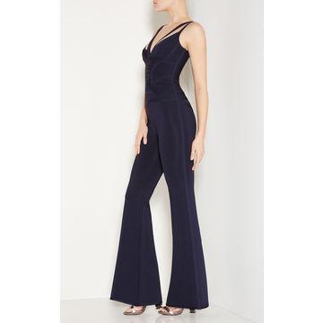 China Bandage jumpsuit, loose legging spaghetti strap backless women evening