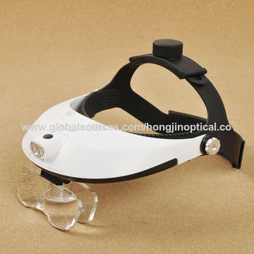 cd2035794ca ... China Handsfree Head Mount Magnifier with Detachable LED Head Lamp  Dental Loupes ...