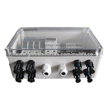 B1095945490 solar 4 string junction box, iron case, abb, spd, fuse, breaker fused junction box for trailer at honlapkeszites.co