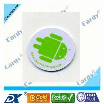 3m Adhesive Mifare Ntag203 Rfid Tag Nfcsticker | Global Sources