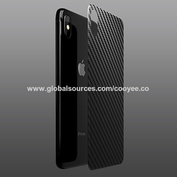 outlet store 107b6 57fb3 iPhone XS Max carbon fiber back protection