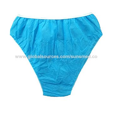 990f84034 Disposable women s patient brief