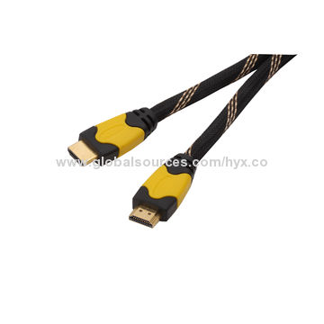 High-end Assembly Type HDMI Cable with Zinc Alloy Metal Shell-plated Pearl-Cr