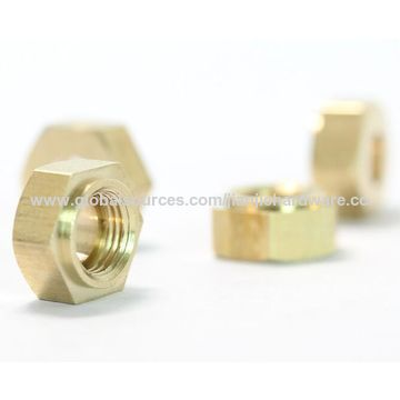 China Custom CNC Screw/Nuts, Material Alloy, Brass, Bronze Stainless Steel, Aluminum