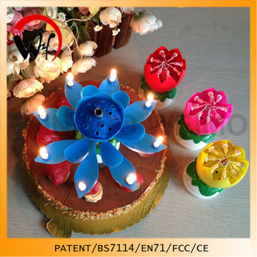China Supplier Wholesale Birthday Cake Firework Candle