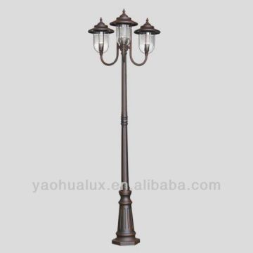 ... China 1 Classic garden lighting - cast aluminum pole cla & 1 Classic garden lighting - cast aluminum pole classic outdoor ...
