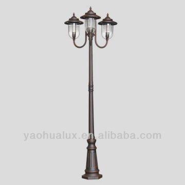 ... China 1 Classic Garden Lighting   Cast Aluminum Pole Cla