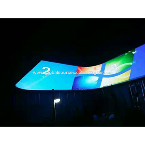 China Hot selling 16x32 RGB LED matrix panel P10 SMD outdoor