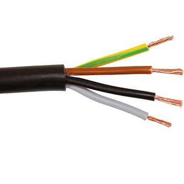 China PVC insulated wire, multicore cables with flexible conductor ...