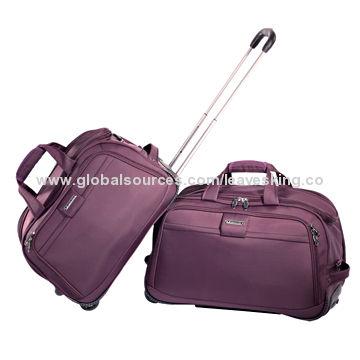 e7ecb585a4 Soft Luggage Aluminum Trolley Duffel Bags with High-quality Fabric ...
