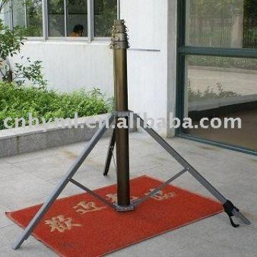 telescopic antenna mast with tripod,mobile lighting tower,video