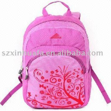 girl's backpack,pink girl backpack,school girl backpack 1. size ...