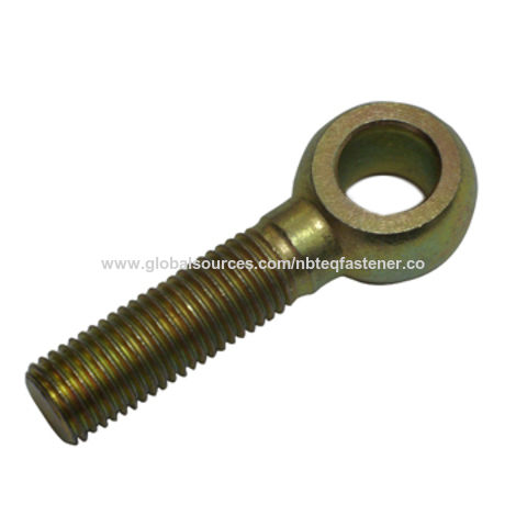 China Eye Bolt Din 444 Standard Made Of Steel