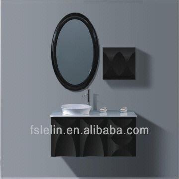 China Modern Design Pratical Bathroom Furniture Cabinet Wash Basin Vanity
