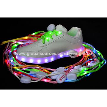 3f7047bb51e5d Unisex Outdoor Safety Light, Flashing LED Shoelace, LED Glow Shoe ...