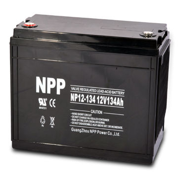 12V and 134Ah Lead-acid Battery with Specific Energy and Low