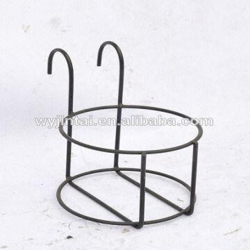 ... China Hanging metal wall flower pot holder