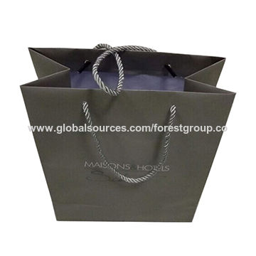 China Paper Bags Custom Design Brown Craft Paper Bag For Shopping