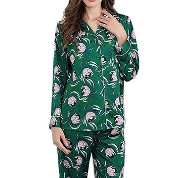 Women's Custom-made 100% Silk Pajamas
