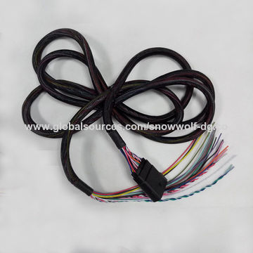 PVC terminal cover sleeve for motorcycle wiring harness | Global ...