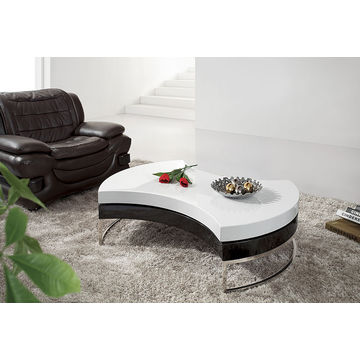 ... China 2016 Wholesale Round Fashionable Wooden Center Table Design  Rotatable Italian Coffee Table