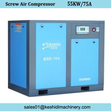 75hp 55kw Belt Screw Air Compressor China