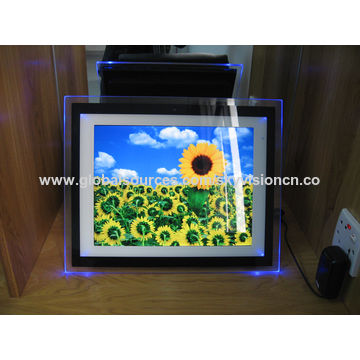China 15-inch Lighter acrylic digital photo frame from Shenzhen ...