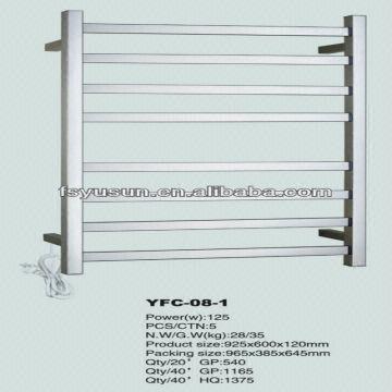 SAA Electric Towel Warmer Wall Mounted Towel Rack Heated
