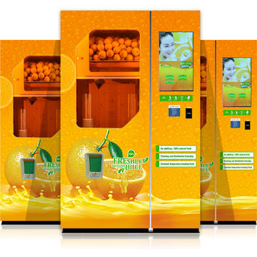Most Advance Freshly Squeezed Orange Juice Vending Machine Supplier