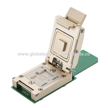 BGA169 Socket SD Solution, 12x18mm, 0 5mm Pitch, Perform, eMMC Test