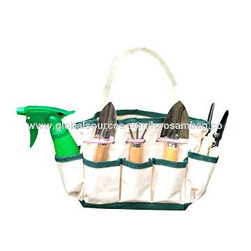 Canvas Tool Bag Tote, Canvas Garden Tool Bag