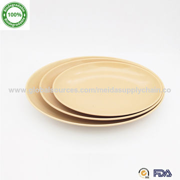 Eco Friendly Bamboo Plate