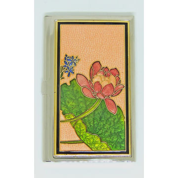 Taiwan business card holder for women from chung shan chu trading taiwan business card holder for women card case for man cloisonne metal card colourmoves