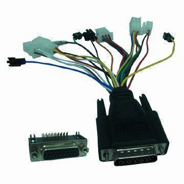 B1055891503 26 pin connector with wire harness molded for electric motorcycle molded wire harness at metegol.co
